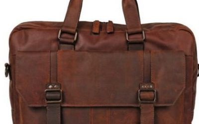 Closeout Leather Briefcase